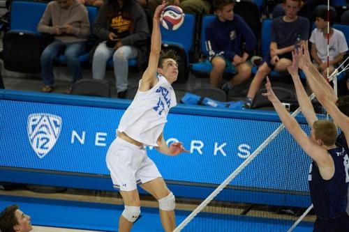 UCLA Men's Volleyball Defeats Harvard to Advance to NCAA Semifinals