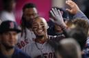 Mookie Betts returns to Boston Red Sox lineup vs. Royals; Eduardo Nunez back at second base