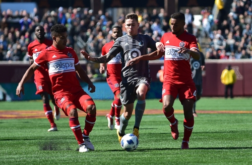 Sam Nicholson traded to Colorado Rapids for Eric Miller