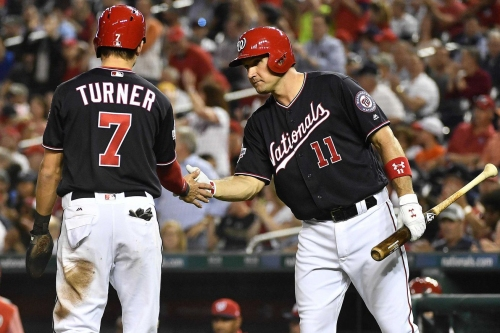 Washington Nationals' lineup for 3rd of 4 vs Pittsburgh Pirates: Davey Martinez sticks with Bryce Harper as leadoff hitter...