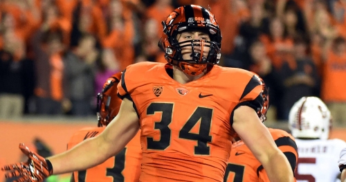 Former Oregon State RB Ryan Nall, ex-Oregon coach Mark Helfrich reunited with Chicago Bears