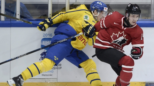 Montreal Canadiens sign Swedish prospect Lukas Vejdemo