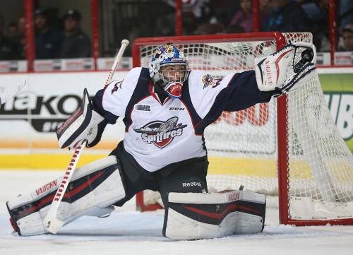 Canucks prospect Michael DiPietro named OHL goaltender of the year