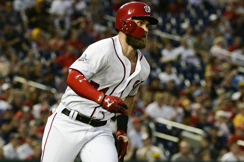 Nationals win fourth straight, 9-3 over Pirates: Bryce Harper homers again, appears to like leading off...