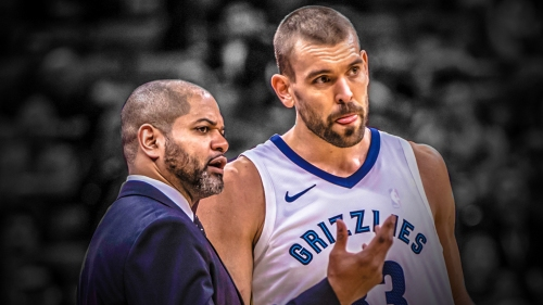 Marc Gasol backs coach J.B. Bickerstaff hiring