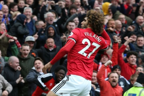 Manchester United fans love Marouane Fellaini's swipe at Liverpool great Jamie Carragher