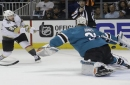 Martin Jones makes 34 saves as Sharks tie series with 4-0 win