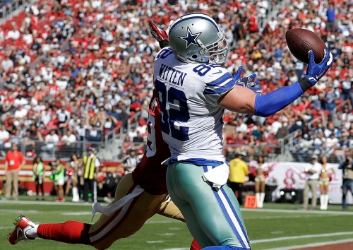 AP source: Cowboys' Witten retiring, heading to ESPN