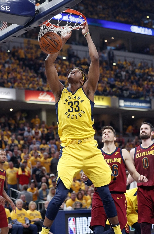 Offseason checklist for Pacers center Myles Turner: Get stronger, rebound, own the paint