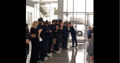 WATCH: Jason Witten gives classy goodbye to Dallas Cowboys employees after taking job with ESPN's Monday Night Football