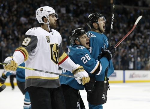 Gackle on Sharks: Vegas is fast, but this ain't the 2016 Stanley Cup Final