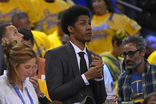 Warriors' Patrick McCaw is out at least out through the Western Conference Finals