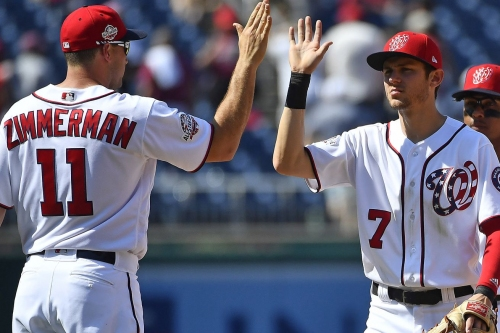 Washington Nationals' lineup for tonight's series opener with the Philadelphia Phillies...