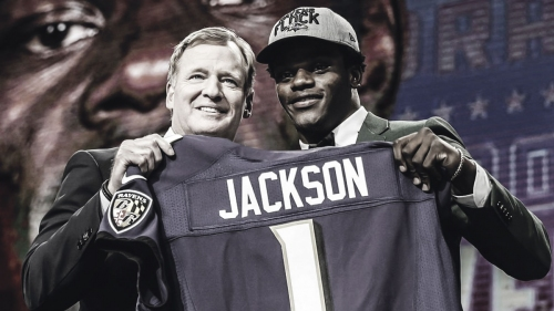 Fellow Ravens rookie says Lamar Jackson wanted to run on first play of camp