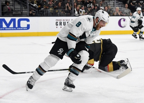 Live playoff updates: Sharks vs. Golden Knights, Game 5 on Friday