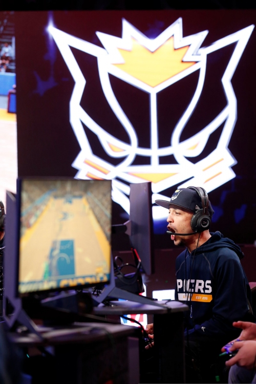 Once their PG showed up, Pacers Gaming looked pretty great in the NBA 2K League