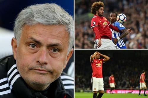 Manchester United news LIVE Marouane Fellaini latest and Brighton reaction