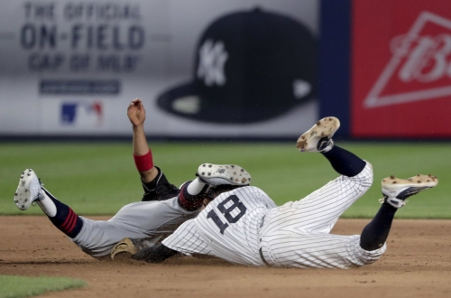 Cleveland Indians have a crazed Friday night in the Bronx as concerns over the bullpen grow