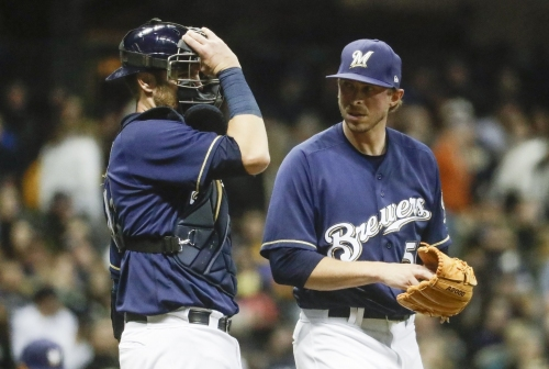 Cleveland Indians acquire RHP Oliver Drake from Milwaukee for cash