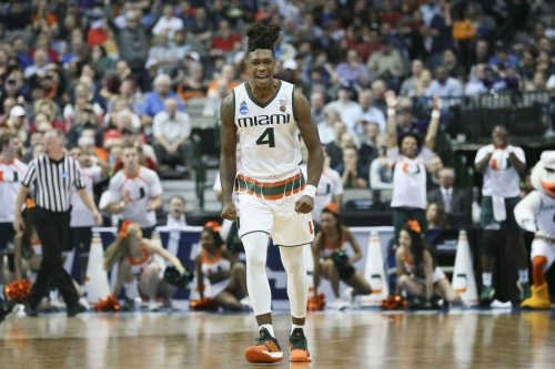 Miami Freshman Lonnie Walker IV Would Fit with the Blazers