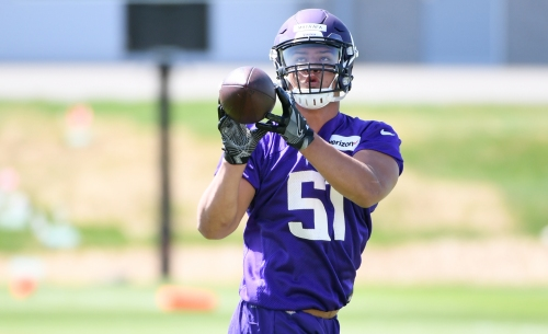 Hawaiian rookie Hercules Mata'afa trying to live up to his name with Vikings