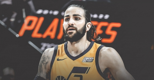 Jazz guard Ricky Rubio upgraded to questionable for Game 4