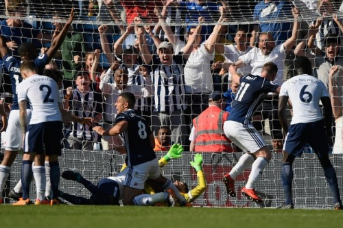 'That was the most emotional day as a West Brom fan' - Albion pull off a Spurs special and it's Crystal Palace next