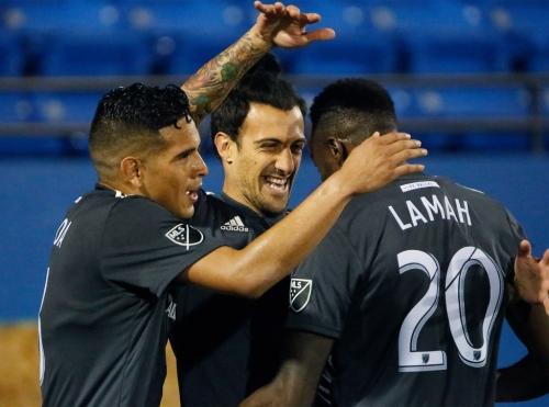 FC Dallas tie 1-1 to snap LAFC's win streak