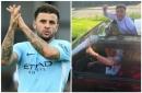 Man City fans love Kyle Walker's brilliant car pool celebration