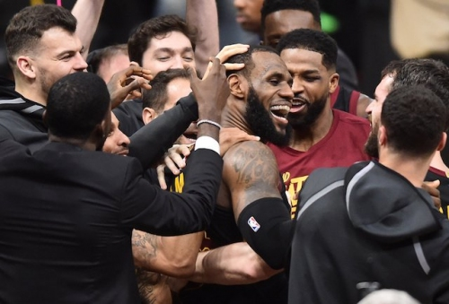 LeBron James Joins Lakers' Robert Horry With Multiple Game-Winning Baskets In Same NBA Playoffs