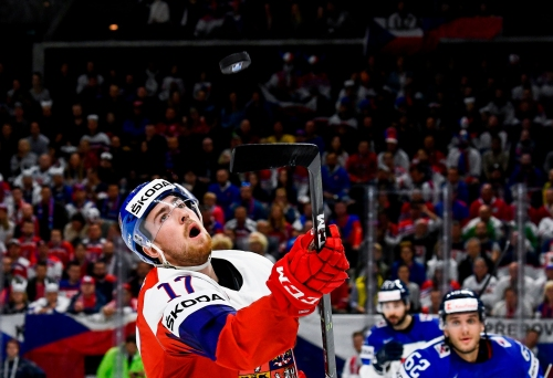 Detroit Red Wings' Filip Hronek shows promise at World Championship