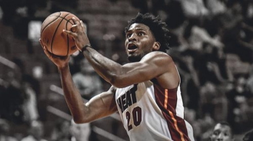 Heat forward Justise Winslow says improved shooting will be his point of emphasis this offseason