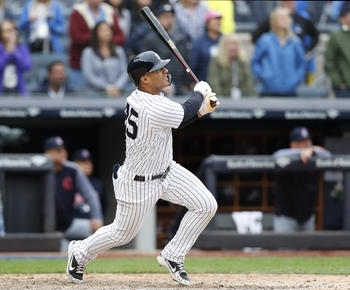 Torres HR in 9th, Yanks top Indians 7-4; 15 wins in 16 games