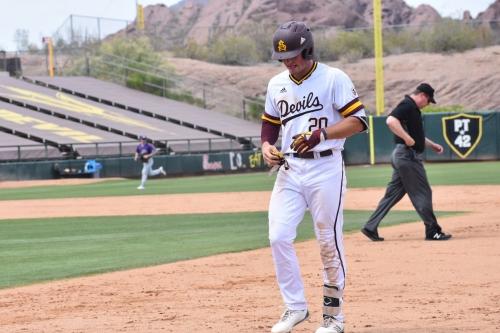 ASU Baseball: Sun Devils' comeback falls short in rubber match loss to Washington