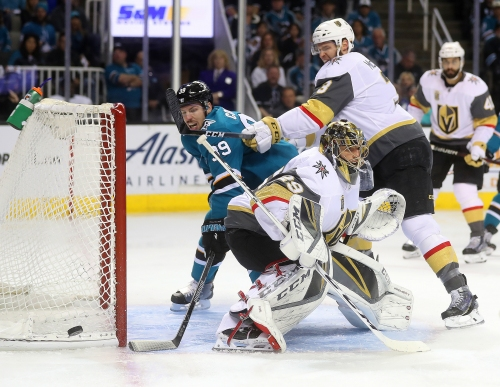 Good Knight: Sharks' season ends with Game 6 loss to Vegas