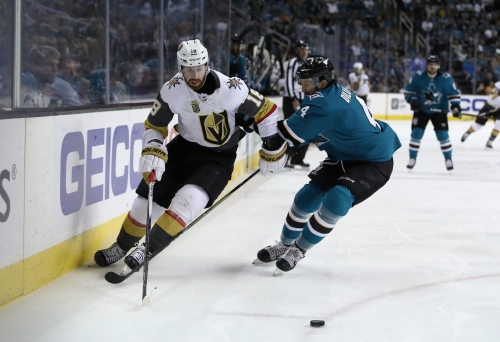 Vegas Golden Knights top San Jose Sharks to make Western Conference Final