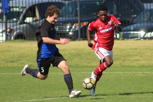 Catching up with the FC Dallas U19s against Solar SC
