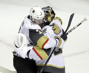 Golden Knights' magic ride heads to conference final