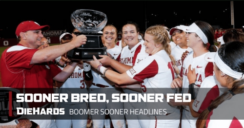 Oklahoma softball sets historic mark; Kyler Murray earning strong reviews