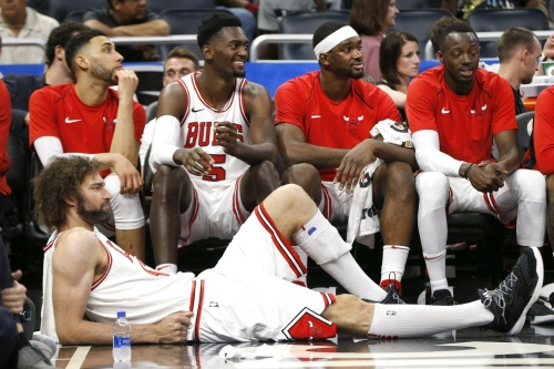 The Bulls' roster this summer is full...full of what is a different question