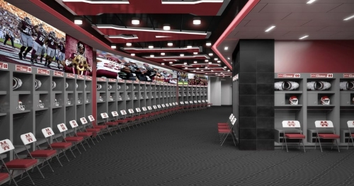 New Mississippi State locker room at Davis Wade Stadium will include fantastic features