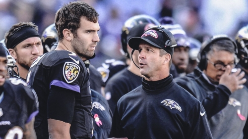 Ravens QB Joe Flacco has 'gotten the message' with team drafting Lamar Jackson