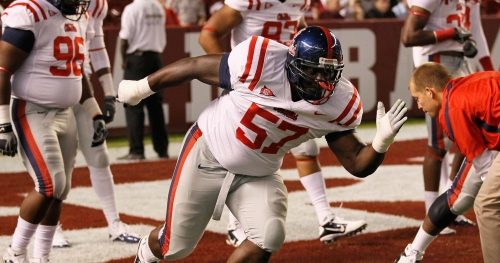 LOOK: Former Ole Miss DL Jerrell Powe roasts NCAA with savage graduation announcement