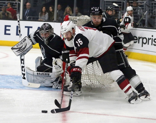 What does the Marcus Kruger trade mean for Brad Richardson, Arizona Coyotes' fourth line?