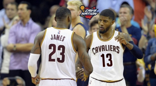 How the playoffs would look if the Cavs traded Kyrie Irving for Paul George instead