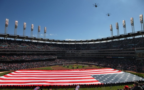 Cleveland Indians continue ticket program to honor military service members