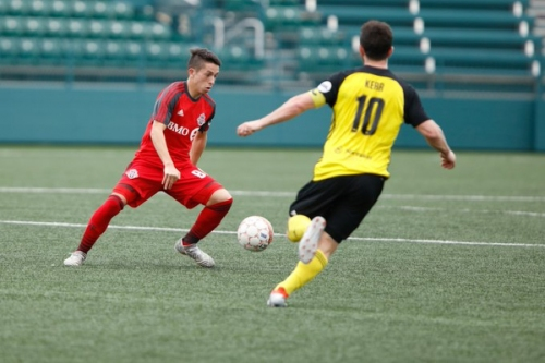 Late Hundal strike and superb Mino performance not enough for TFC II against the Pittsburgh Riverhounds