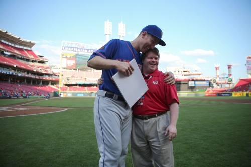 Todd Frazier, Ted Kremer reunite before Mets-Reds game at GABP