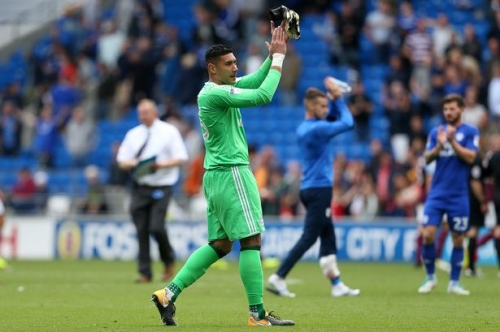 How Neil Etheridge went from sleeping on a sofa in Oldham to the Premier League with Cardiff City