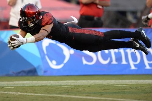 Washington Redskins UDFA profile - Mikah Holder, WR, San Diego State